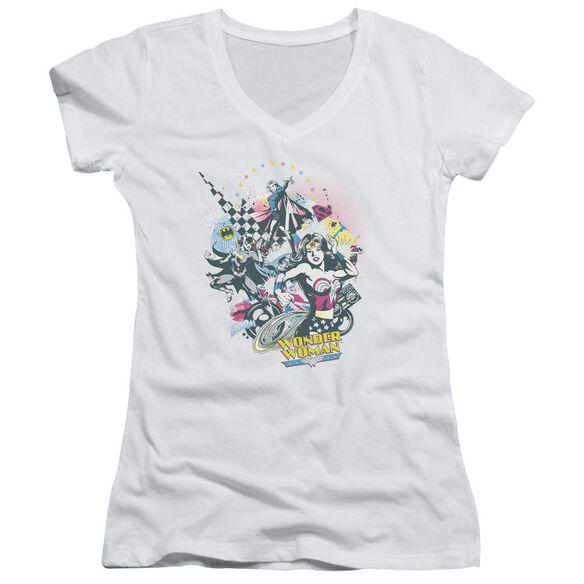 Dc Power Trio Junior V Neck T-Shirt