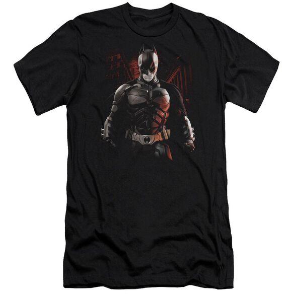 Dark Knight Rises Batman Battleground Short Sleeve Adult T-Shirt