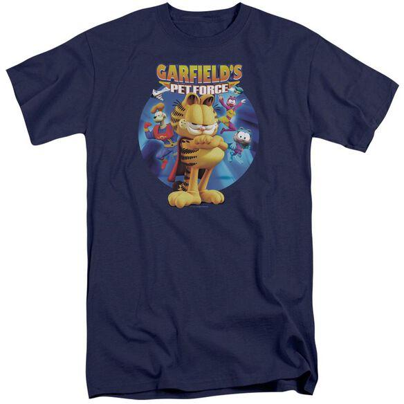 Garfield Dvd Art Short Sleeve Adult Tall T-Shirt