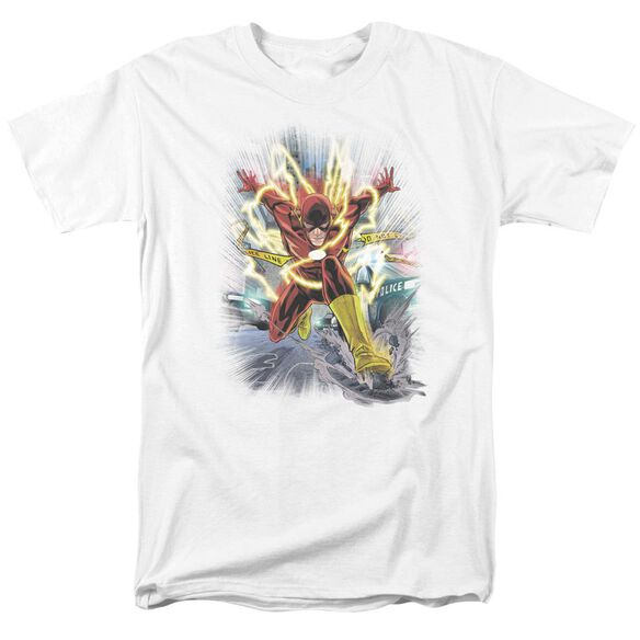 Jla Brightest Day Flash Short Sleeve Adult T-Shirt