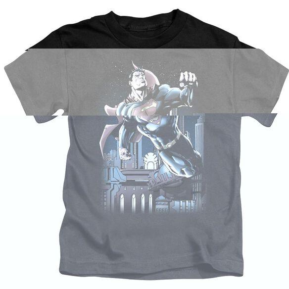 SUPERMAN NIGHT FIGHT - S/S JUVENILE 18/1 - BLACK - T-Shirt