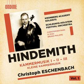 Hindemith/ Kronberg Academy Soloists/ Eschenbach - Kammermusik I-Iii