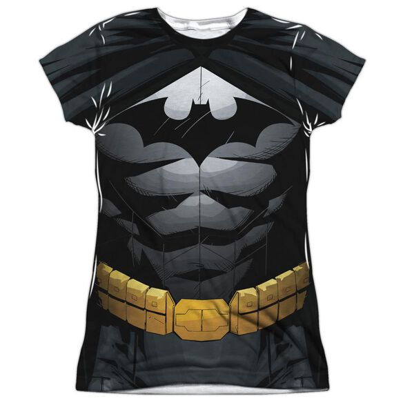 Batman Uniform Short Sleeve Junior Poly Crew T-Shirt