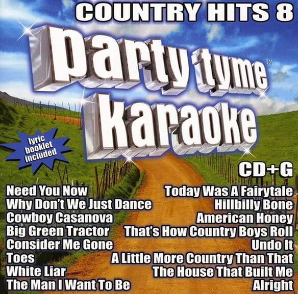 Various Artists - Party Tyme Karaoke: Country Hits, Vol. 8