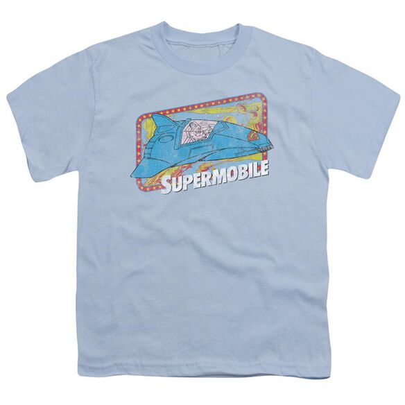 Dc Supermobile Short Sleeve Youth Light T-Shirt