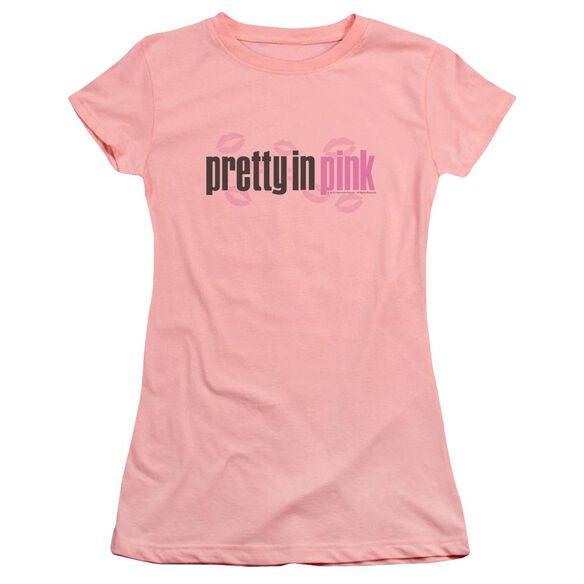 Pretty In Logo Premium Bella Junior Sheer Jersey