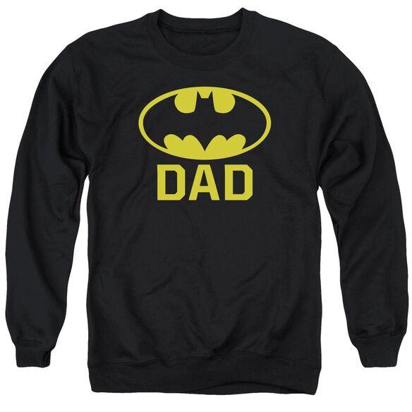 Batman Bat Dad Adult Crewneck Sweatshirt