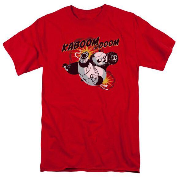 Kung Fu Panda Kaboom Of Doom Short Sleeve Adult T-Shirt