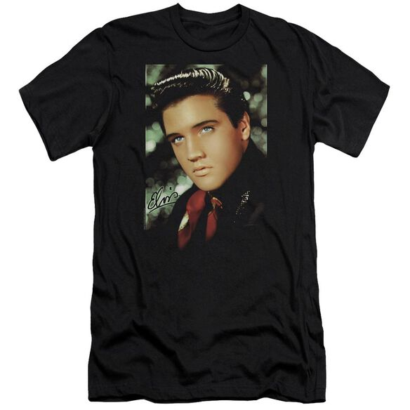 Elvis Red Scarf Premuim Canvas Adult Slim Fit