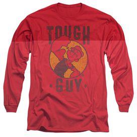 Popeye Tough Guy Long Sleeve Adult T-Shirt