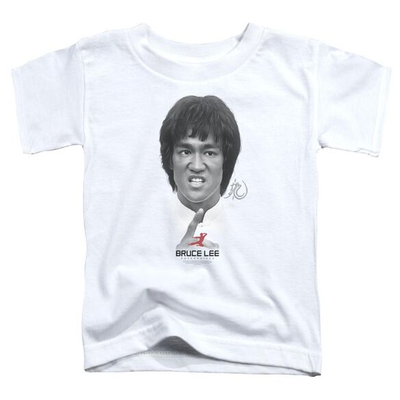 Bruce Lee Self Help Short Sleeve Toddler Tee White Sm T-Shirt