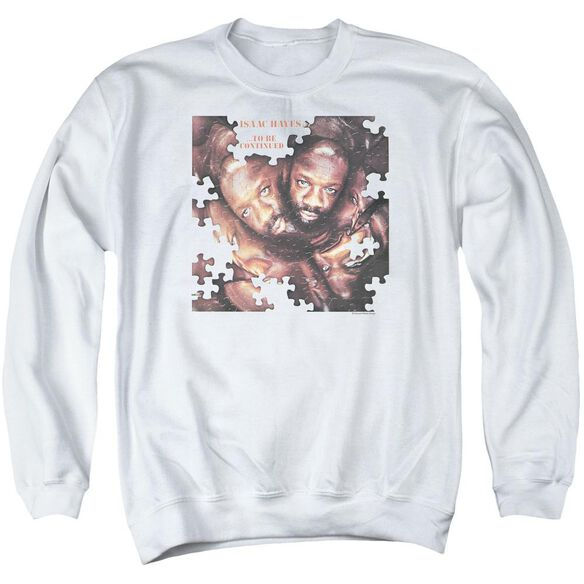 Isaac Hayes To Be Continued Adult Crewneck Sweatshirt