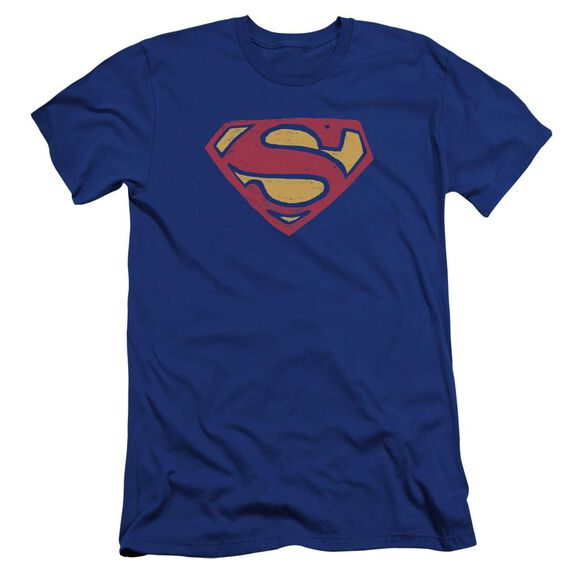 Superman Super Rough Premuim Canvas Adult Slim Fit Royal