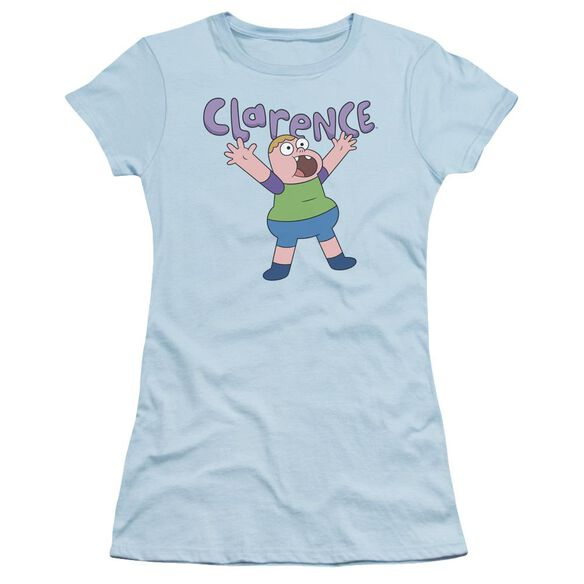 Clarence Whoo Short Sleeve Junior Sheer Light T-Shirt