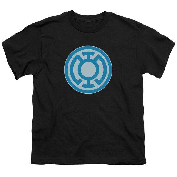 Green Lantern Blue Symbol Short Sleeve Youth T-Shirt