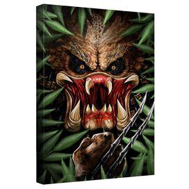 Predator Hidden Threat Canvas Wall Art With Back Board