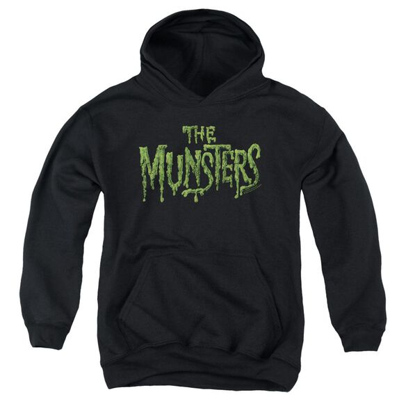 The Munsters Distress Logo Youth Pull Over Hoodie
