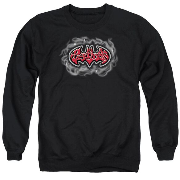 Batman Hip Hop Logo Adult Crewneck Sweatshirt
