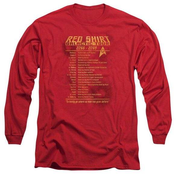 Star Trek Shirt Tour Long Sleeve Adult T-Shirt