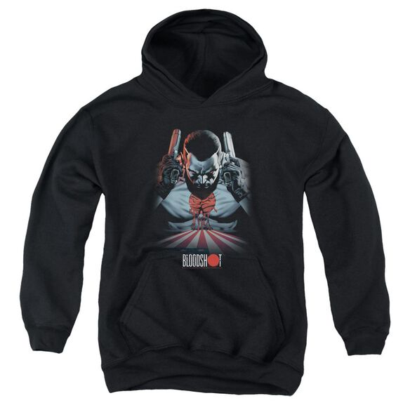 Bloodshot Blood Lines Youth Pull Over Hoodie