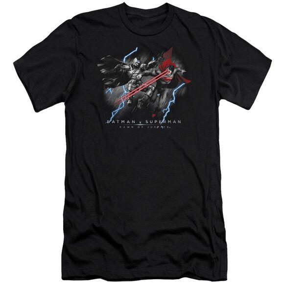 Batman V Superman Lightning V Heat Vision Short Sleeve Adult T-Shirt