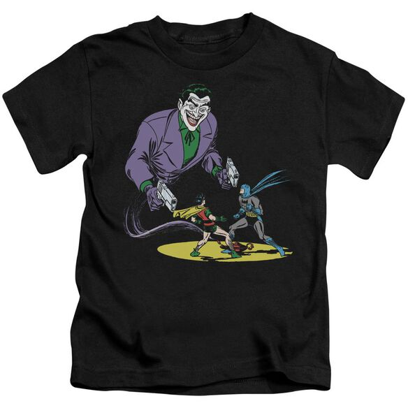 Batman Detective #69 Cover Short Sleeve Juvenile Black T-Shirt