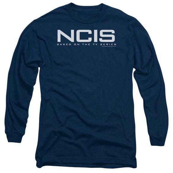 Ncis Logo Long Sleeve Adult T-Shirt