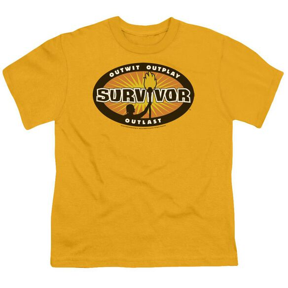 Survivor Burst Short Sleeve Youth T-Shirt