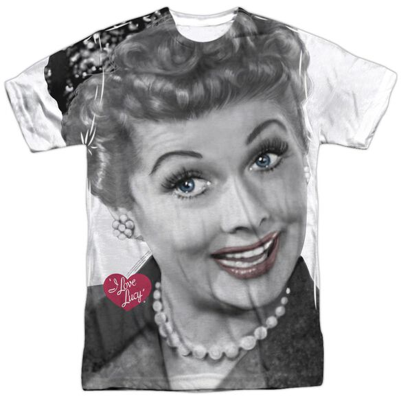 I Love Lucy Timeless Short Sleeve Adult Poly Crew T-Shirt