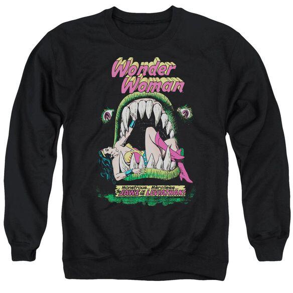 Dc Jaws Adult Crewneck Sweatshirt