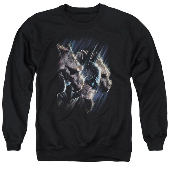 Batman Gargoyles - Adult Crewneck Sweatshirt - Black