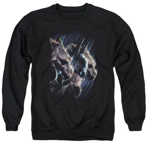 Batman Gargoyles - Adult Crewneck Sweatshirt - Black
