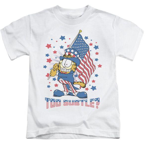 Garfield Subtle Short Sleeve Juvenile T-Shirt