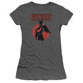 Batman Beyond Iconic Pose Short Sleeve Junior Sheer T-Shirt