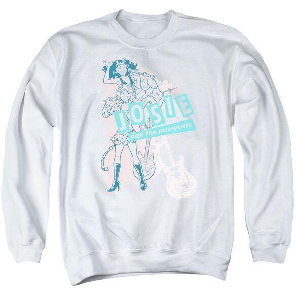 Archie Comics Glam Rockers Adult Crewneck Sweatshirt