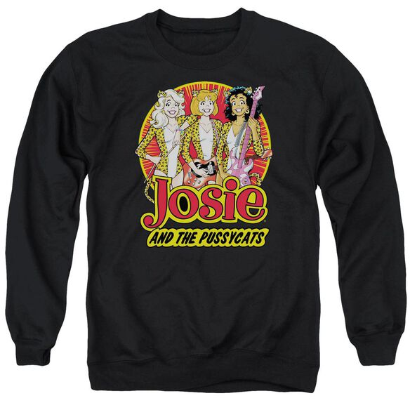 Archie Comics Power Trio Adult Crewneck Sweatshirt