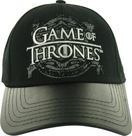 Game of Thrones Faux Leather Visor Hat