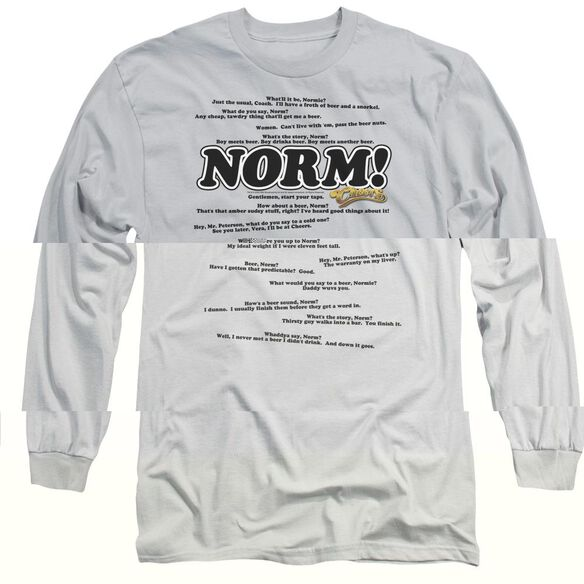 CHEERS NORMISMS-L/S T-Shirt