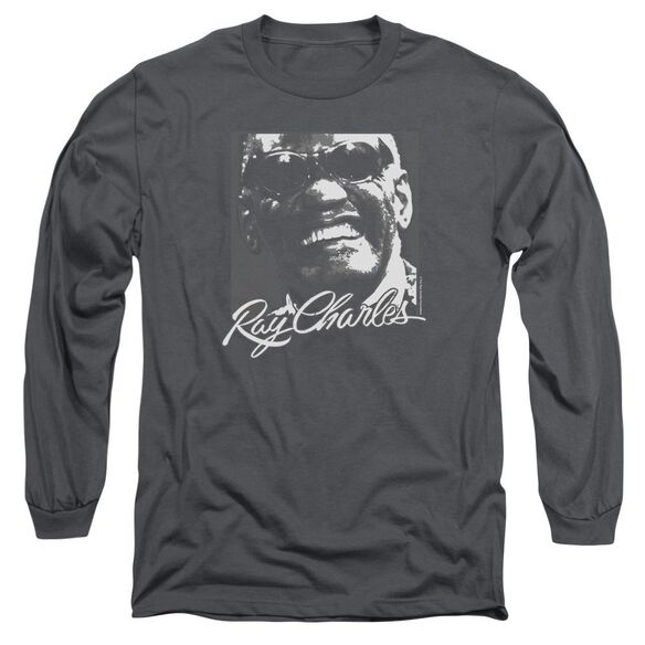 Ray Charles Signature Glasses Long Sleeve Adult T-Shirt