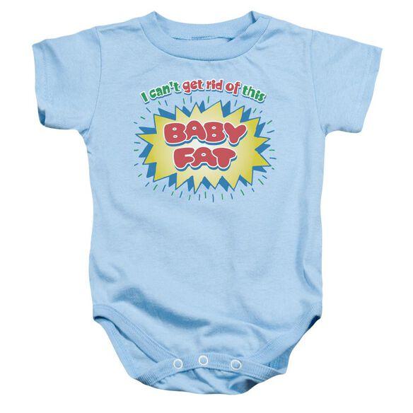 Baby Fat - Infant Snapsuit - Light Blue - Sm