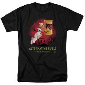 Popeye Alternative Fuel Short Sleeve Adult T-Shirt