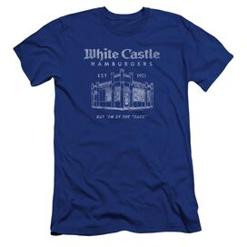 White Castle By The Sack Hbo Short Sleeve Adult Royal T-Shirt
