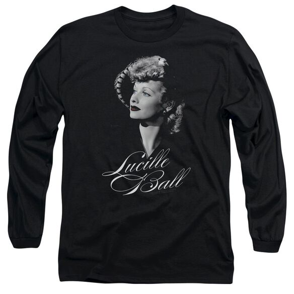 Lucille Ball Pretty Gaze Long Sleeve Adult T-Shirt