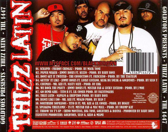 Thizz Latin 0107