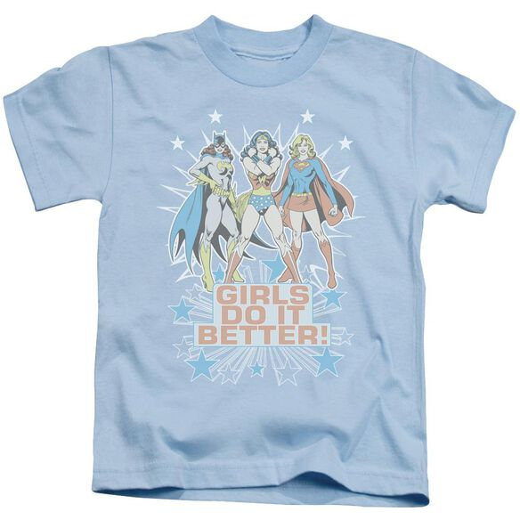 Dc Girls Do It Better Short Sleeve Juvenile Light Blue Md T-Shirt