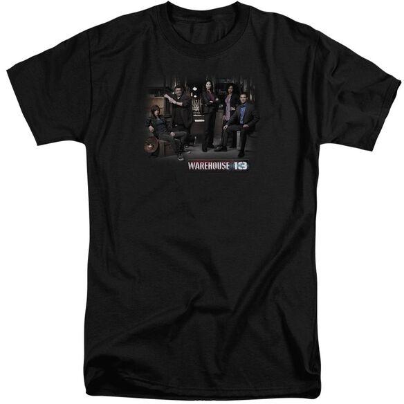 Warehouse 13 Warehouse Cast Short Sleeve Adult Tall T-Shirt