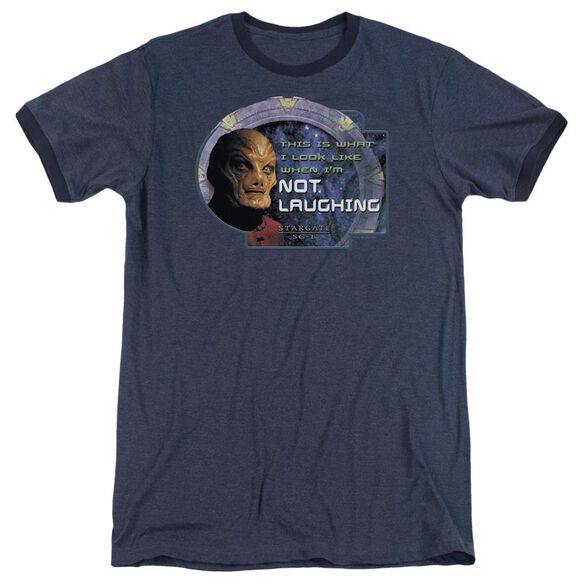 Sg1 Not Laughing Adult Heather Ringer Navy