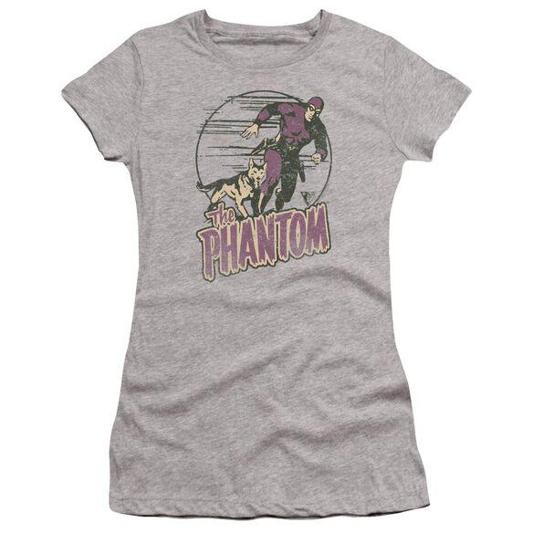 Phantom Phantom And Dog Premium Bella Junior Sheer Jersey Athletic