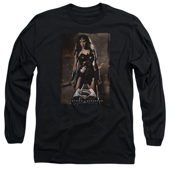 Batman V Superman Ww Poster Long Sleeve Adult T-Shirt