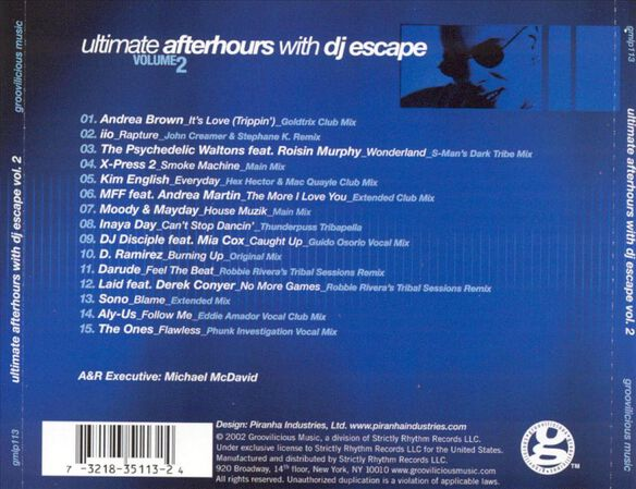 Ultimate Afterhours Vol 2